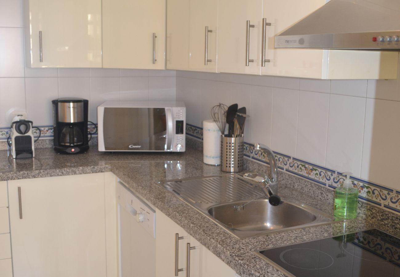 ZapHoliday - 2115 - apartment rental in Manilva, Costa del Sol - kitchen