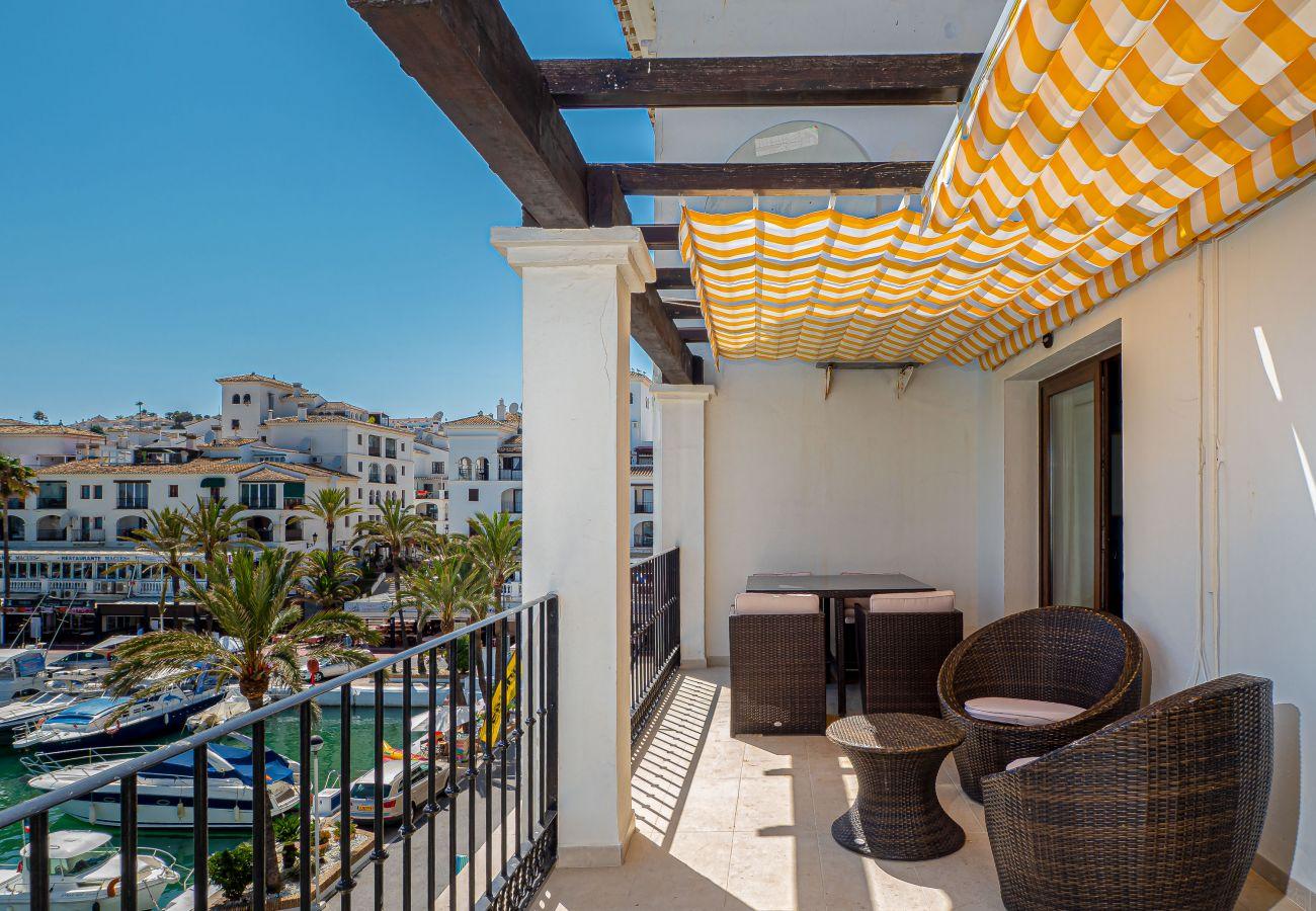 Zapholiday - 2001 - Puerto de la Duquesa apartment, Costa del Sol - terrace