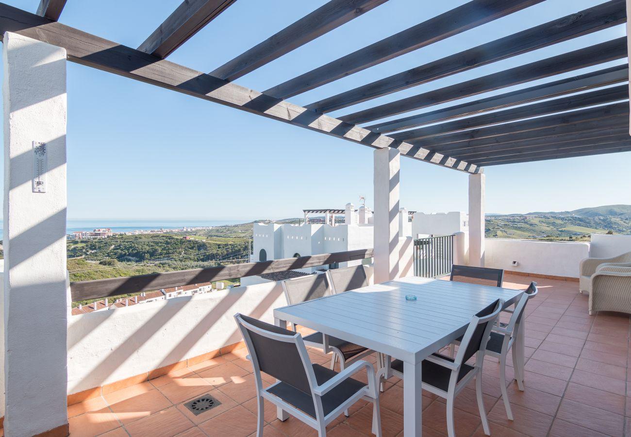 Zapholiday - 2186 - apartment rental Casares - terrace