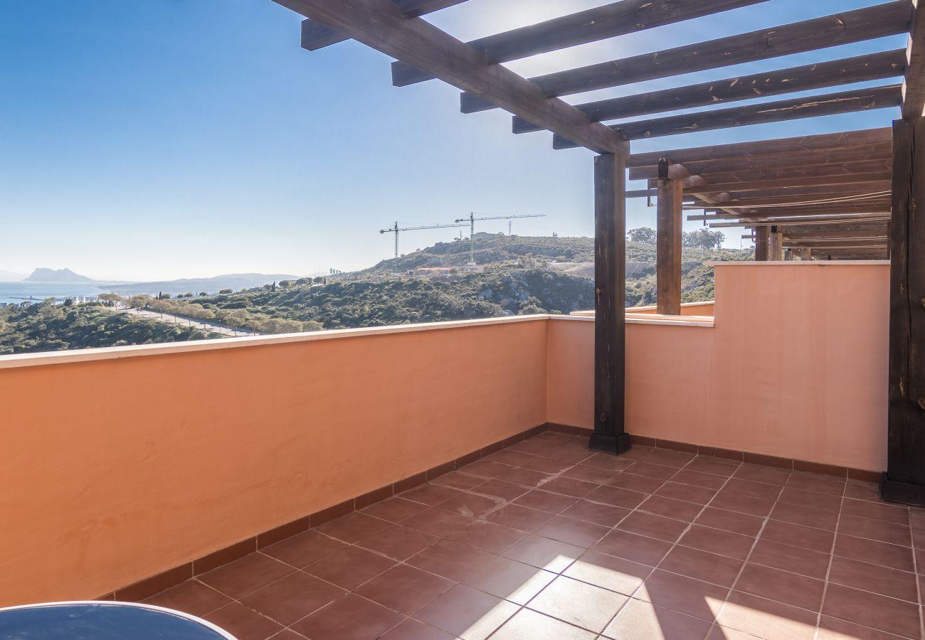Zapholiday - 2020 - Manilva apartment rental - terrace