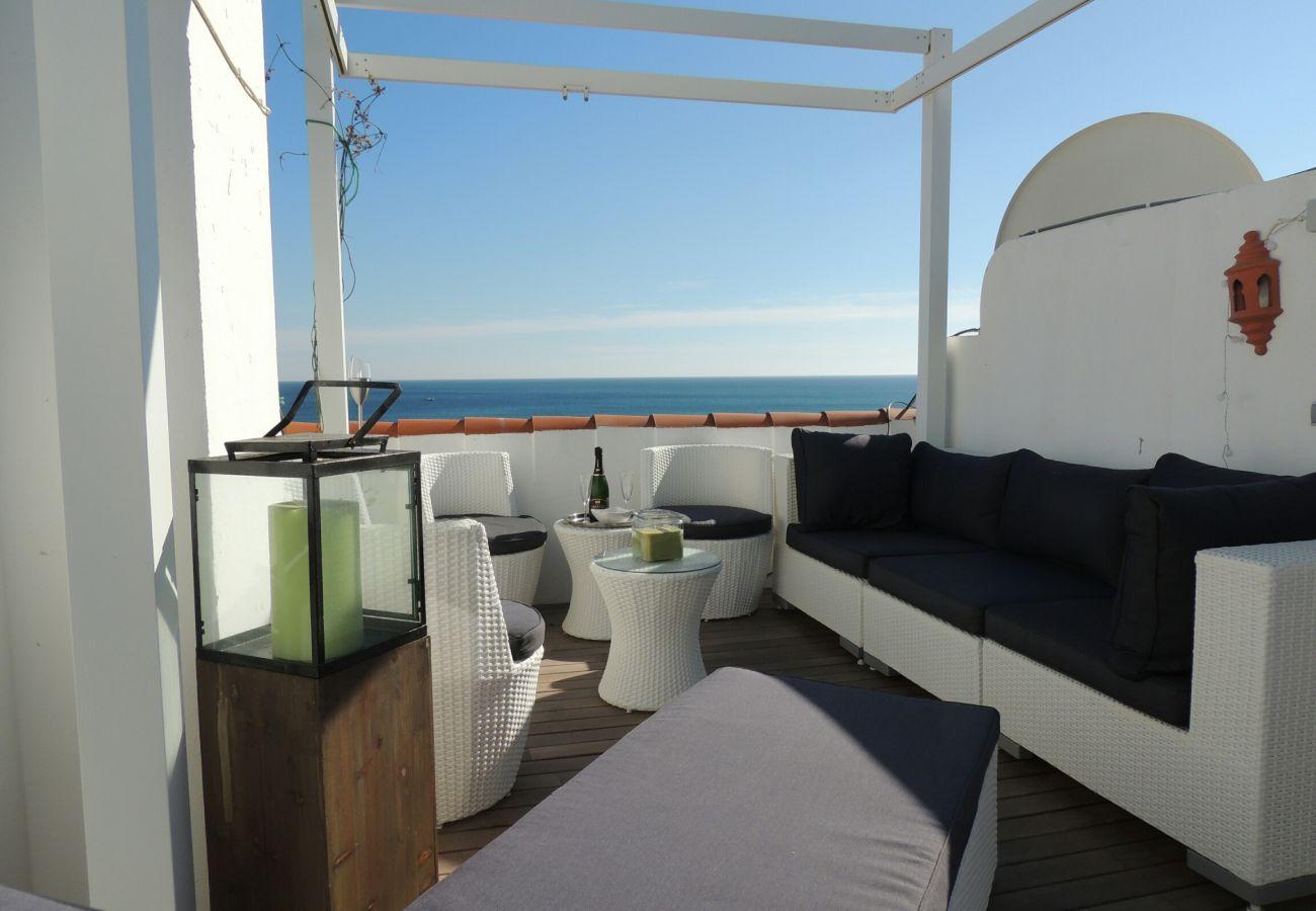 Zapholiday - 2203 - Manilva villa rental - sea view
