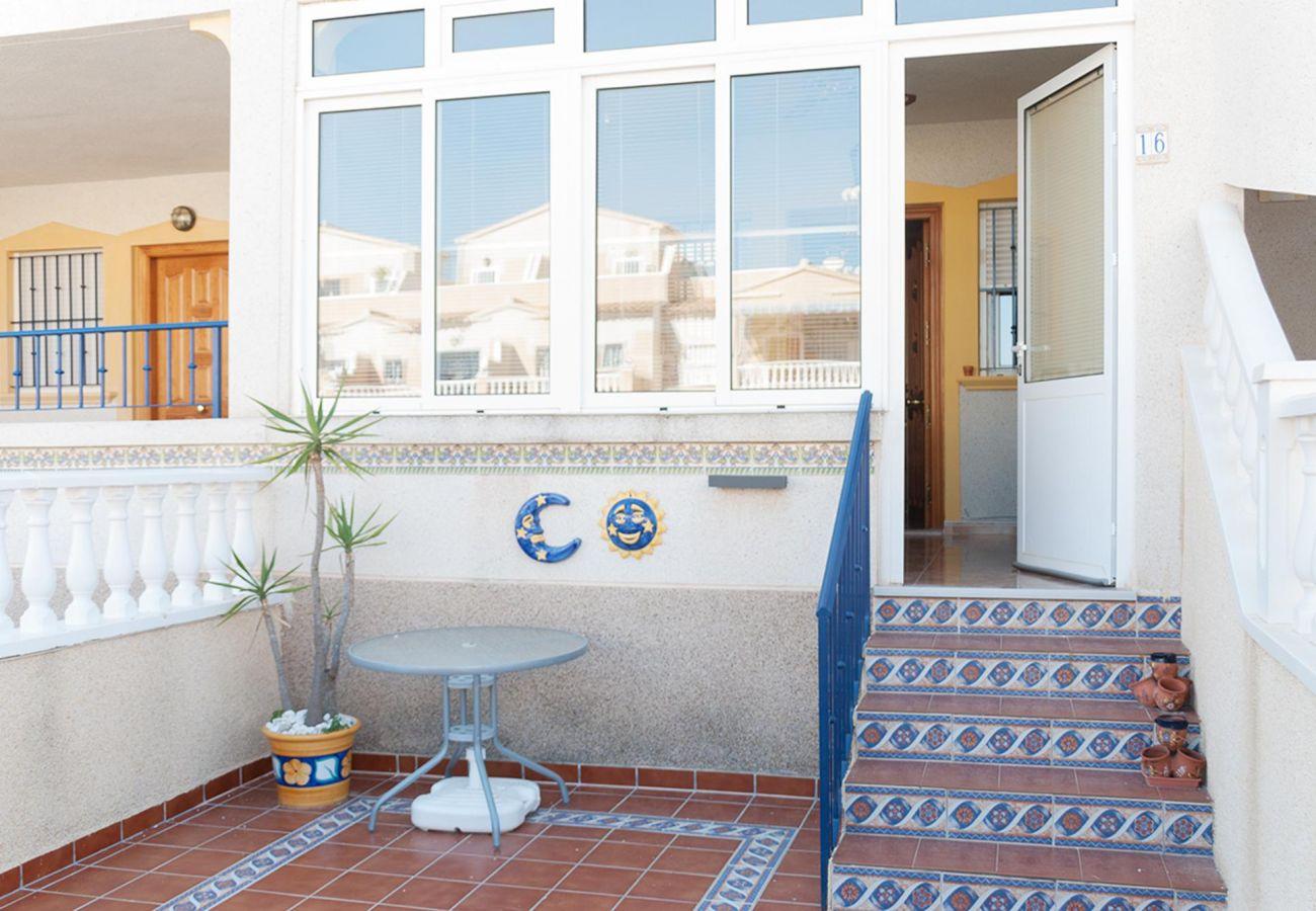 Zapholiday - 3001- rental apartment Orihuela Costa - terrace