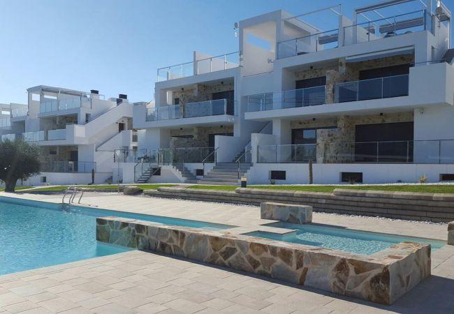 Zapholiday  -  3008  -  Orihuela Costa apartment, Costa Blanca  -  swimming pool