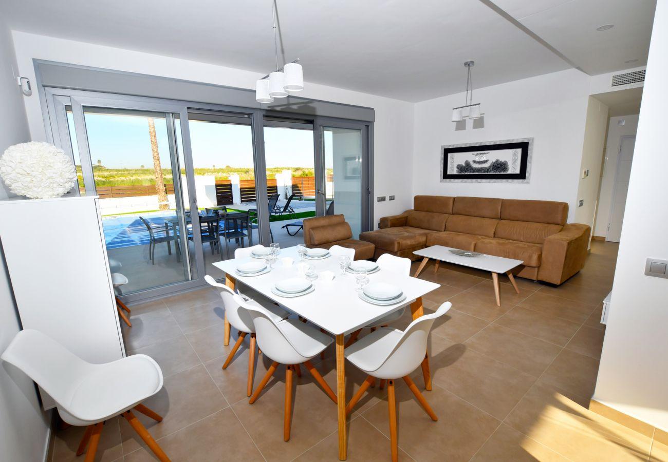 Zapholiday - 3021 - villa Orihuela, Alicante - living room