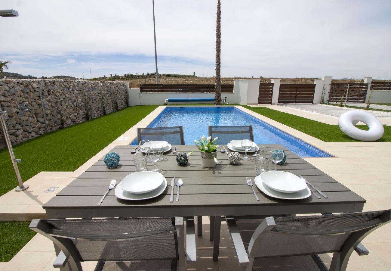 Zapholiday - 3021 - villa Orihuela, Alicante - terrace