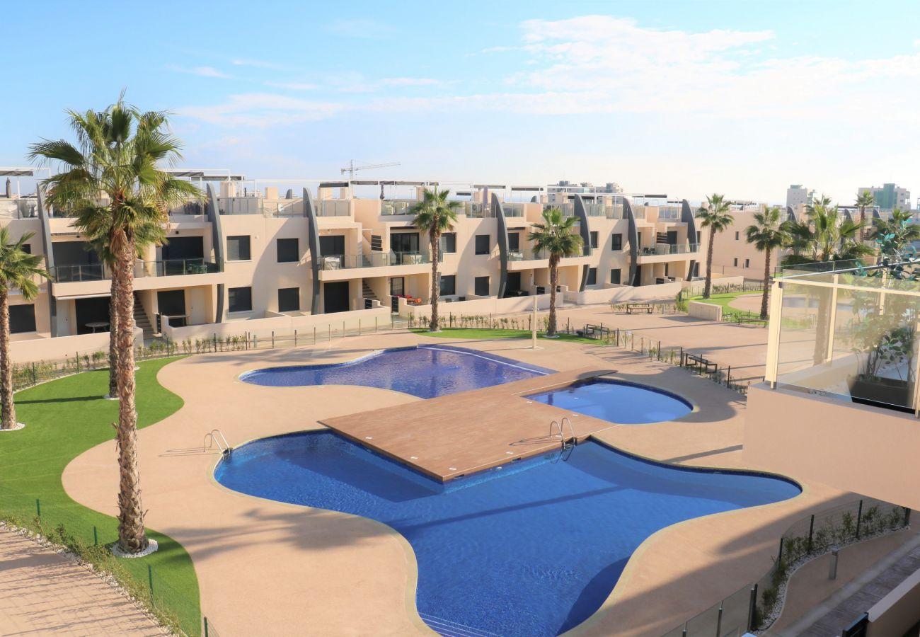 Zapholiday - 3022 - Mil Palmeras apartment, Costa Blanca - swimming pool