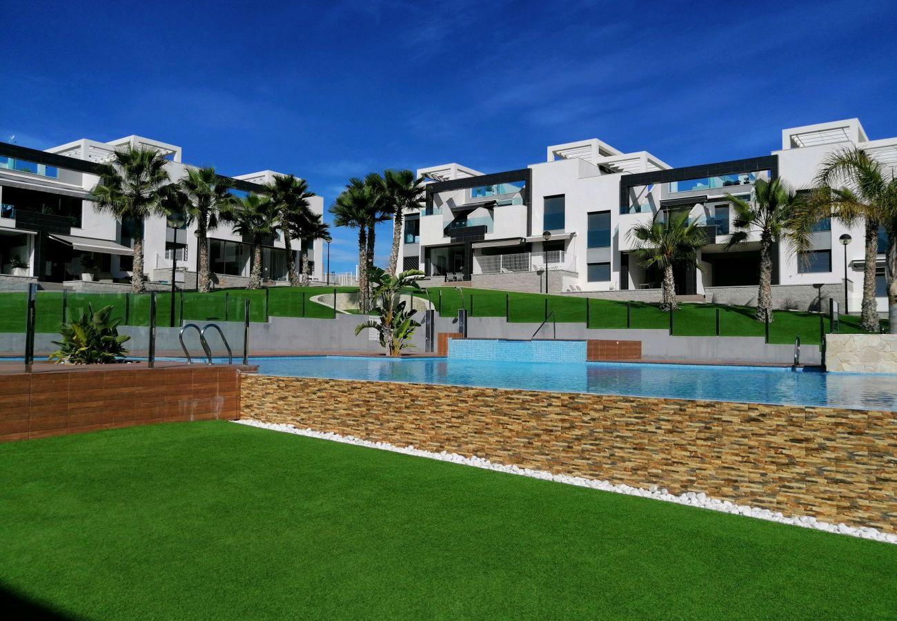 Zapholiday  –  3023  -  Punta Prima apartment, Costa Blanca  -  swimming pool