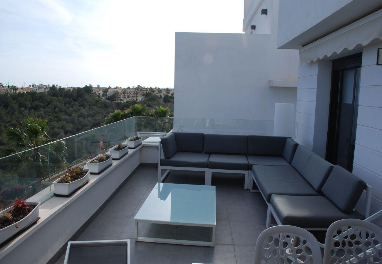 Zapholiday - 3026 - Golf Las Ramblas apartment, Costa Blanca - terrace