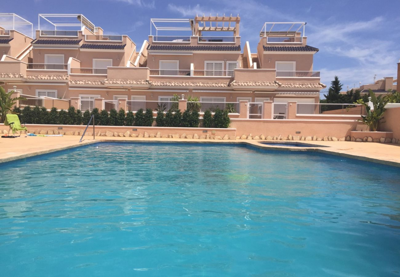 Zapholiday  –  3027  -  Torre de la Horadada apartment, Costa Blanca  -  swimming pool