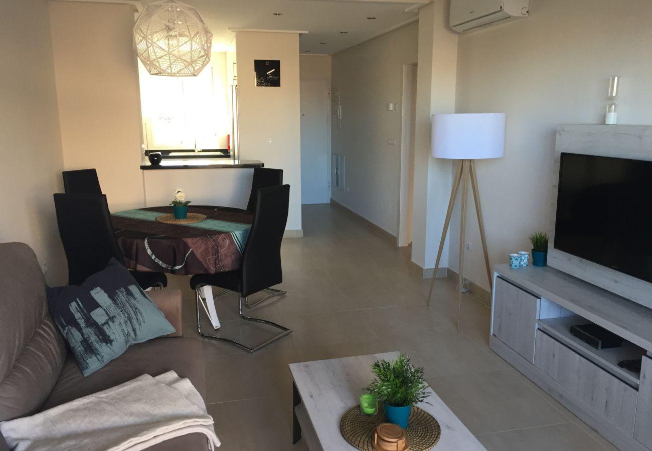 Zapholiday - 3027 - Torre de la Horadada apartment, Costa Blanca - living room