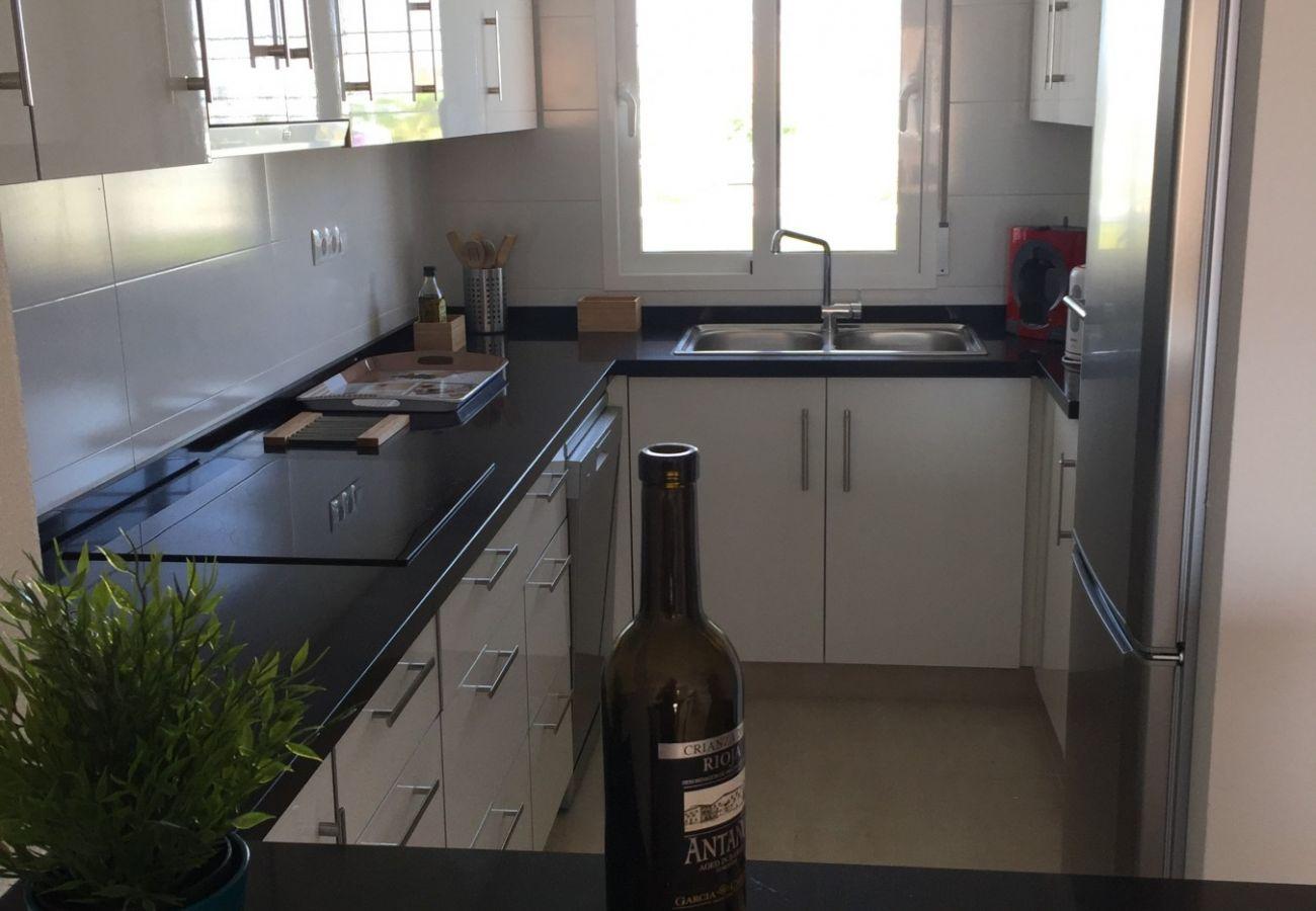 Zapholiday - 3027 - Torre de la Horadada apartment, Costa Blanca - kitchen