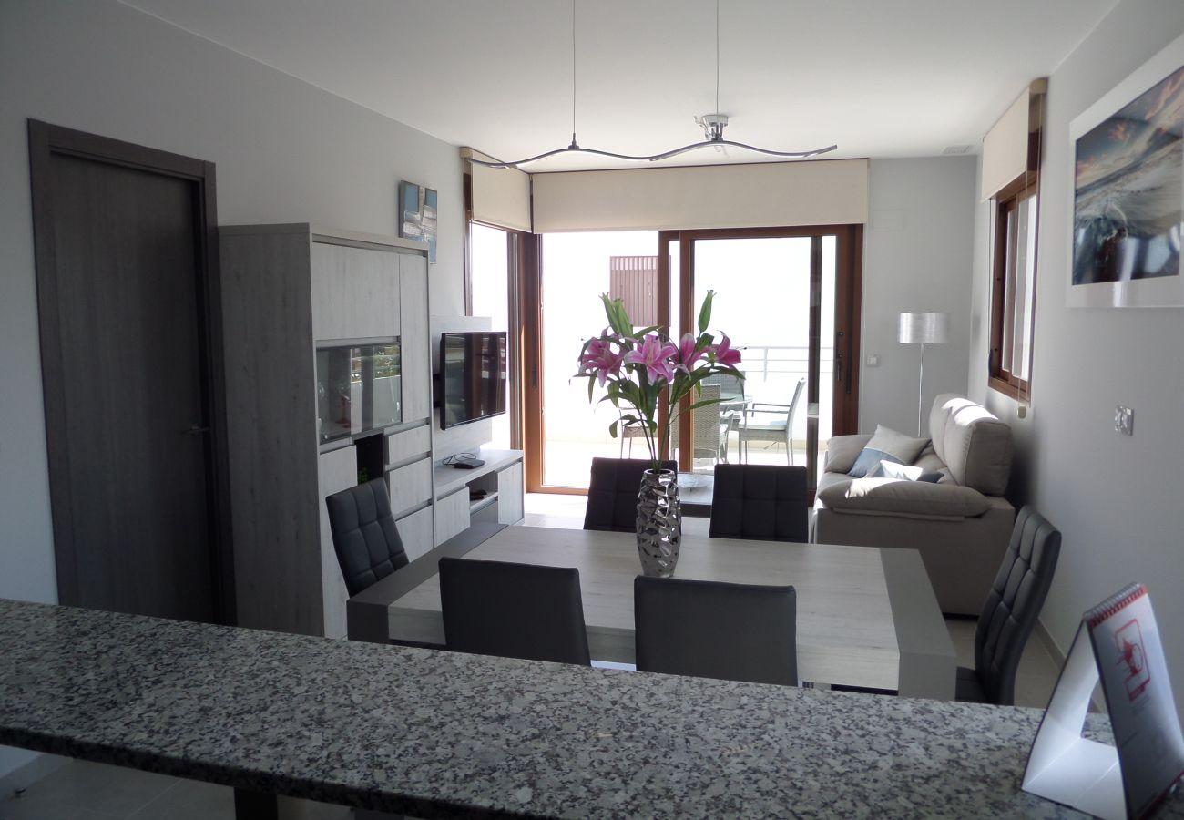 Zapholiday - 3029 - Orihuela Costa penthouse, Costa Blanca - living room