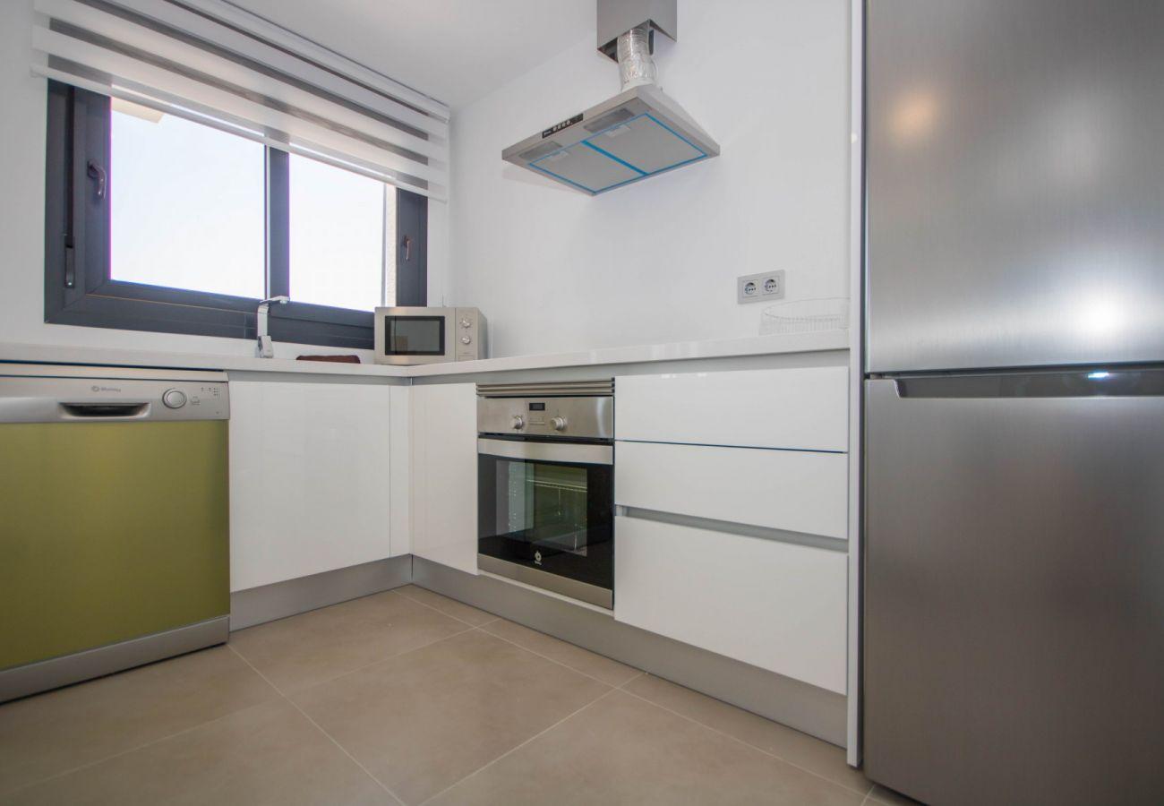 Zapholiday  –  3034  -  villa  Vistabella golf , Alicante  –   kitchen