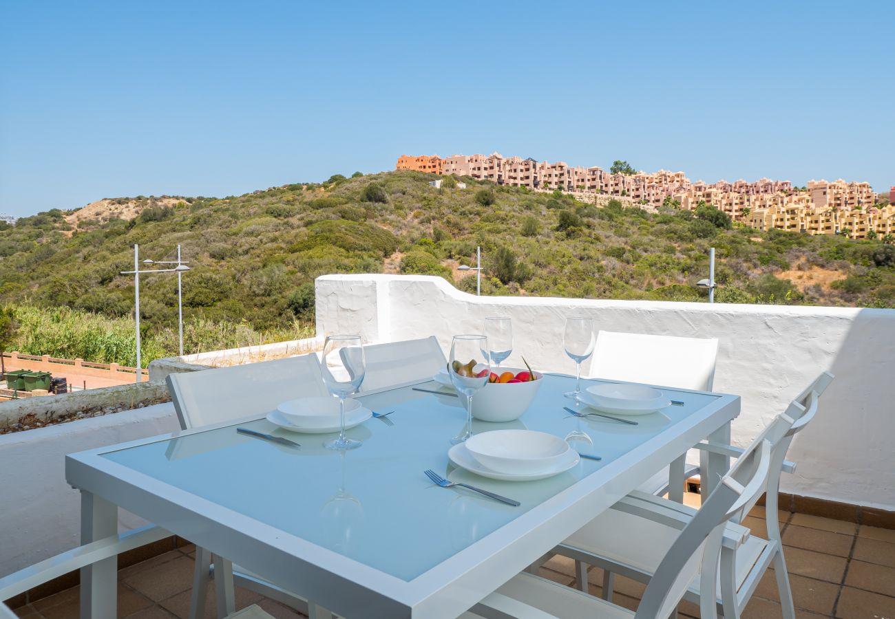 Zapholiday - 2290 - apartment rental La Duquesa, Costa del Sol - terrace