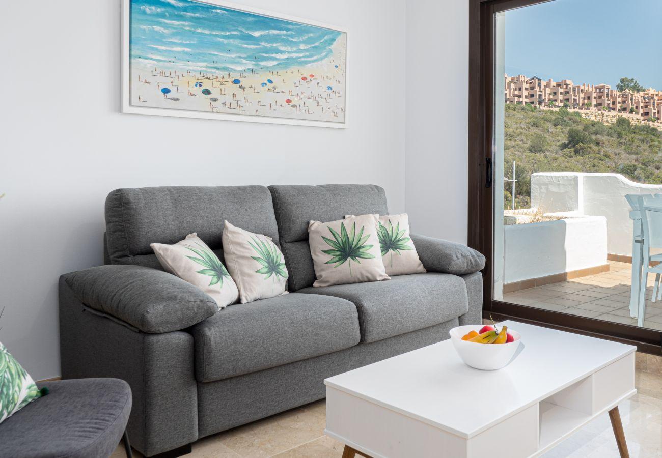 Zapholiday - 2290 - apartment rental La Duquesa, Costa del Sol - living room